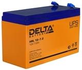 Аккумулятор DELTA HRL 12-7.2 ( 12V 7,2Ah / 12В 7,2Ач ) - фотография