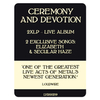 Ghost / Ceremony And Devotion (2LP)