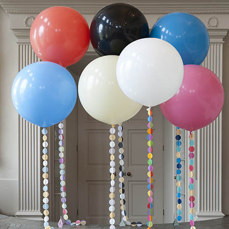 Большие шары Большой шар с гелием 90 см. Выбор цвета full_olimpijskie_shary.jpg