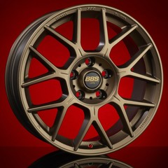 Диск колесный BBS XR 8x18 5x112 ET44 CB82.0 satin bronze