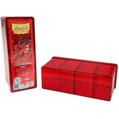 DS Deckboxes: 4-Compartment Red