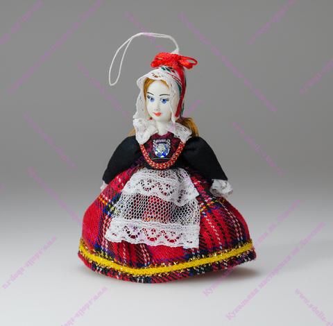 Кукла в эстонском костюме