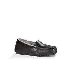 UGG Moccasins for Women Star Wars Black Leather