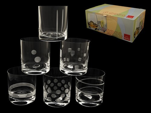 Набор из 6 стаканов для виски «Ассорти» набор стаканов инстамбул кант 6 предметов