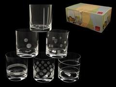Набор из 6 стаканов для виски «Ассорти»