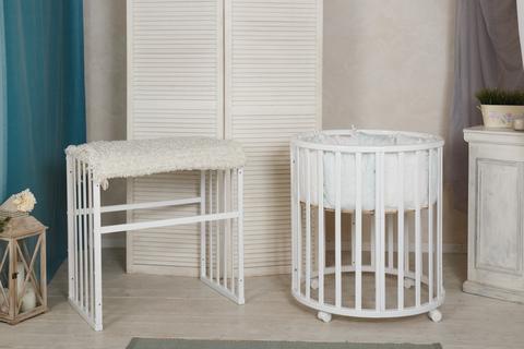 Комплект: Круглая кровать + два матраса