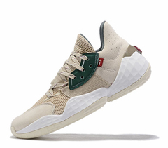 adidas Harden Vol. 4 'Grey/White/Green'