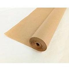Крафт-бумага упаковочная однотонная без печати / рулон 72 см*50 м, 40 гр/м.кв