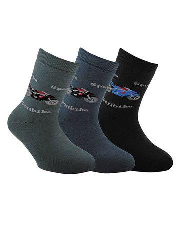 Детские носки Sof-Tiki 7С-46СП (махровые) рис. 093 Conte Kids