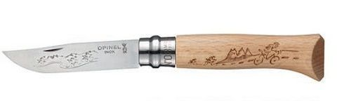 Нож складной Opinel №8 VRI Animalia Cycling