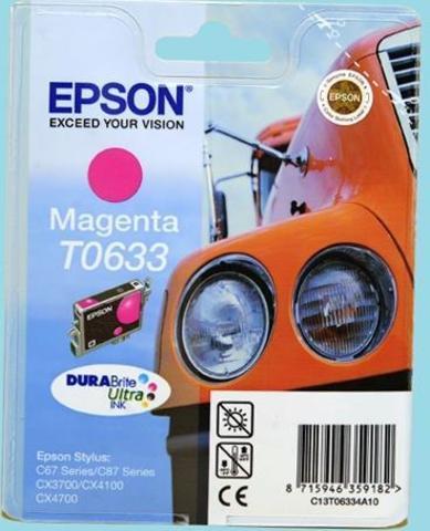 C13T06334A10 (T0633) Мagenta