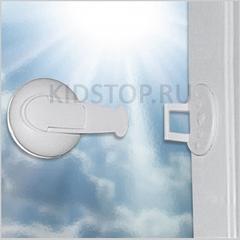 Блокирующий ограничитель на раздвижные окна или двери