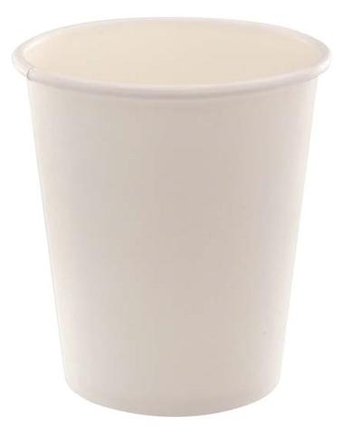 Бумажный стакан 250 мл белый