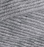 Пряжа Alize Bella 87 угольно-серый