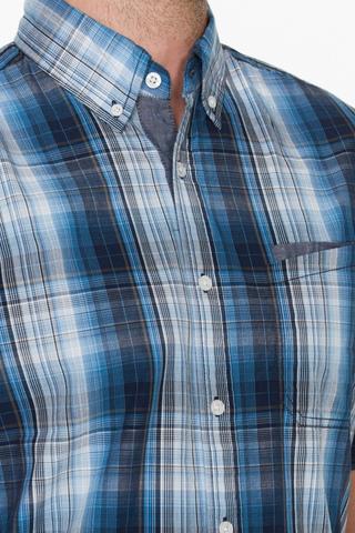 Рубашка мужская  M612-16C-51CC