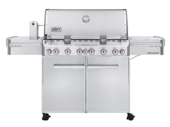 Гриль газовый Weber Summit S-670 GBS, нерж.сталь