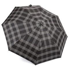 Зонт мужской в клетку ТРИ СЛОНА 907-6