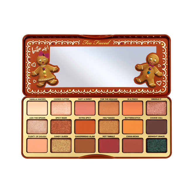 Тени Too Faced Gingerbread Extra Spicy Eyeshadow Palette