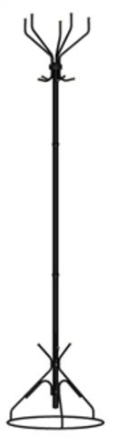 Ажур-2 (Черный) Вешалка напольная