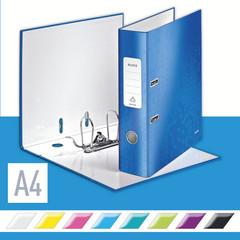 Папка-регистратор Leitz 180° 80 мм голубая