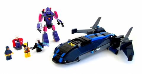 LEGO Super Heroes: Люди Икс против Стражей 76022 — X-Men vs. The Sentinel — Лего Супергерои Марвел