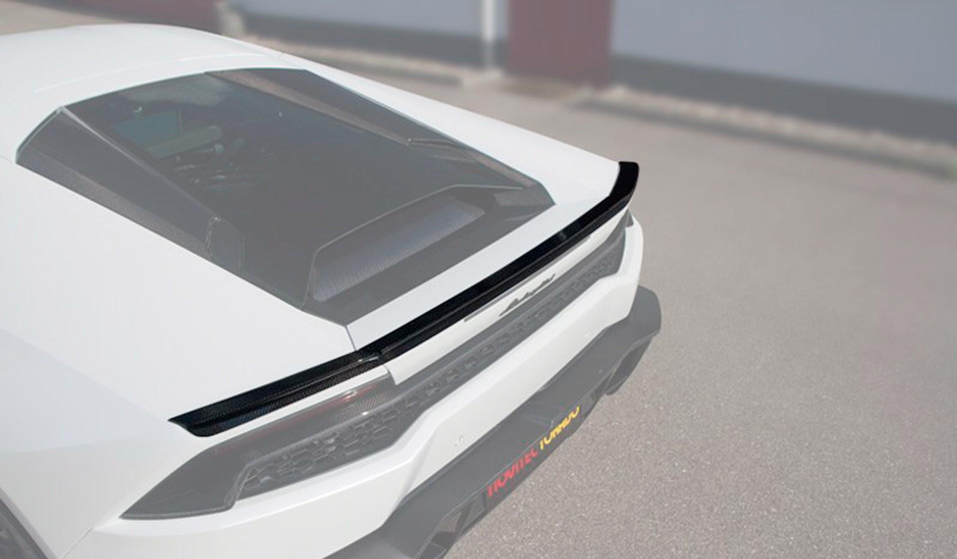 Карбоновый Задний спойлер Novitec Style для Lamborghini Huracan