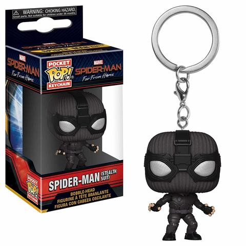 Брелок Funko Pocket POP! Keychain: Marvel: Spider-Man: Far From Home:SpiderMan(StealthSuit)39362-PDQ