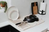Коврик-сушилка для сушки посуды из микрофибры UDRY экрю Umbra 330720-354 | Купить в Москве, СПб и с доставкой по всей России | Интернет магазин www.Kitchen-Devices.ru