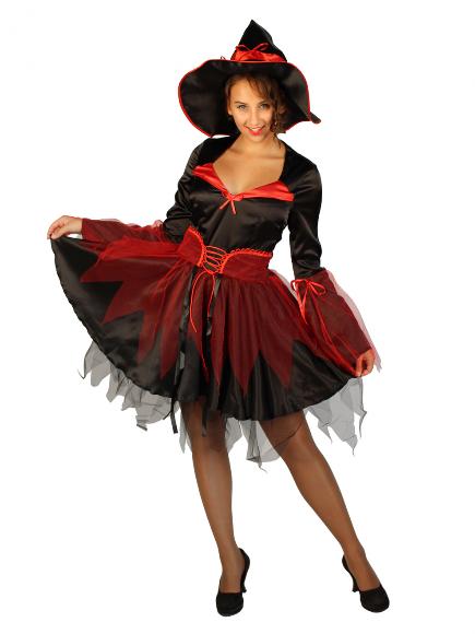 Карнавальный костюм Ведьмочка праздничная