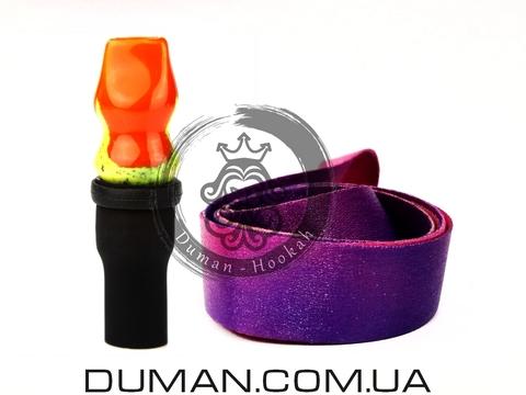 Персональный мундштук Gusto Bowls (Густо Болс) для кальяна |Orange-Yellow Gradient