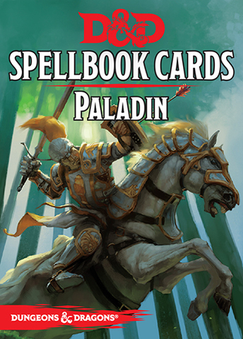 D&D Next: Spellbook Cards (Paladin)