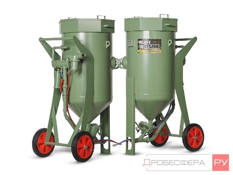 Комплект пескоструя на базе Contracor 200 литров