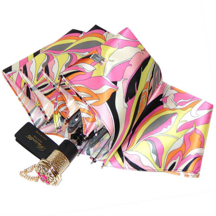 Зонт складной женский Pasotti 5G248-1 Oro Fuxia