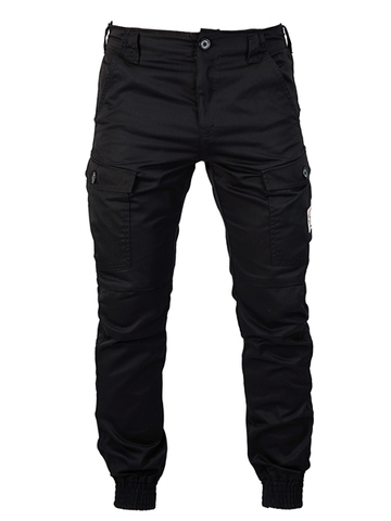 Black military trousers