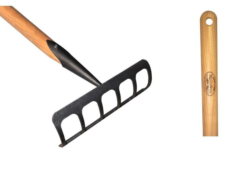 Культиватор-грабли DeWit рукоятка из ясеня 1400мм