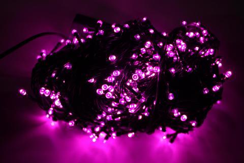 Гирлянда фиолетовая нить 10 метров led