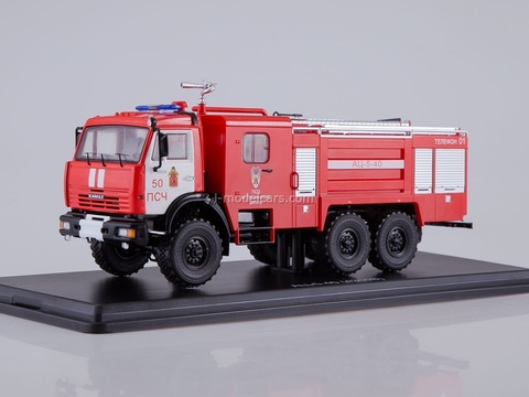 KAMAZ-43118 AC-5-40 fire engine 1:43 Start Scale Models (SSM)