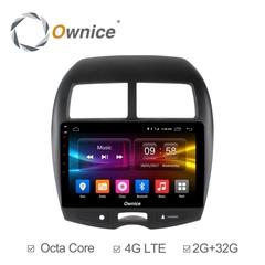 Штатная магнитола на Android 6.0 для Mitsubishi ASX 10-12 Ownice C500+ S1631P