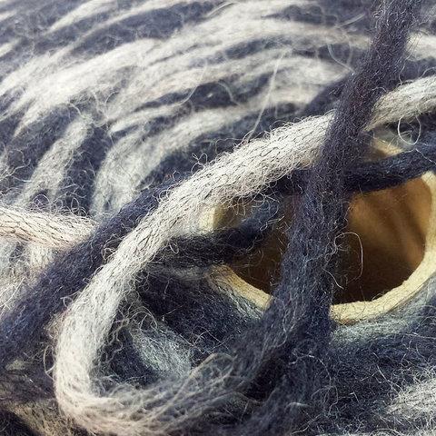 Смесовка с альпакой FILITALY LAB / JUNGLE 220 серо-синий