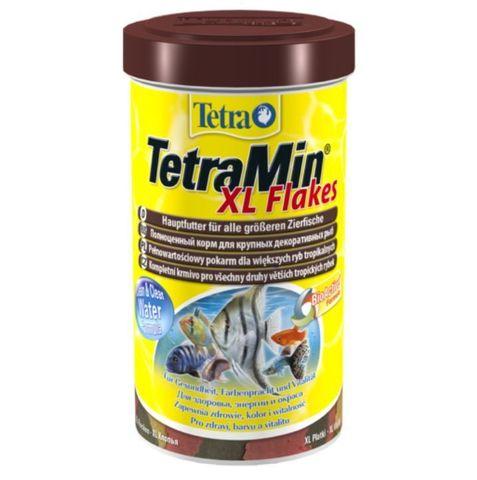TetraMin XL (крупные хлопья) Основной корм для всех видов аквариумных рыб (Германия) 500мл