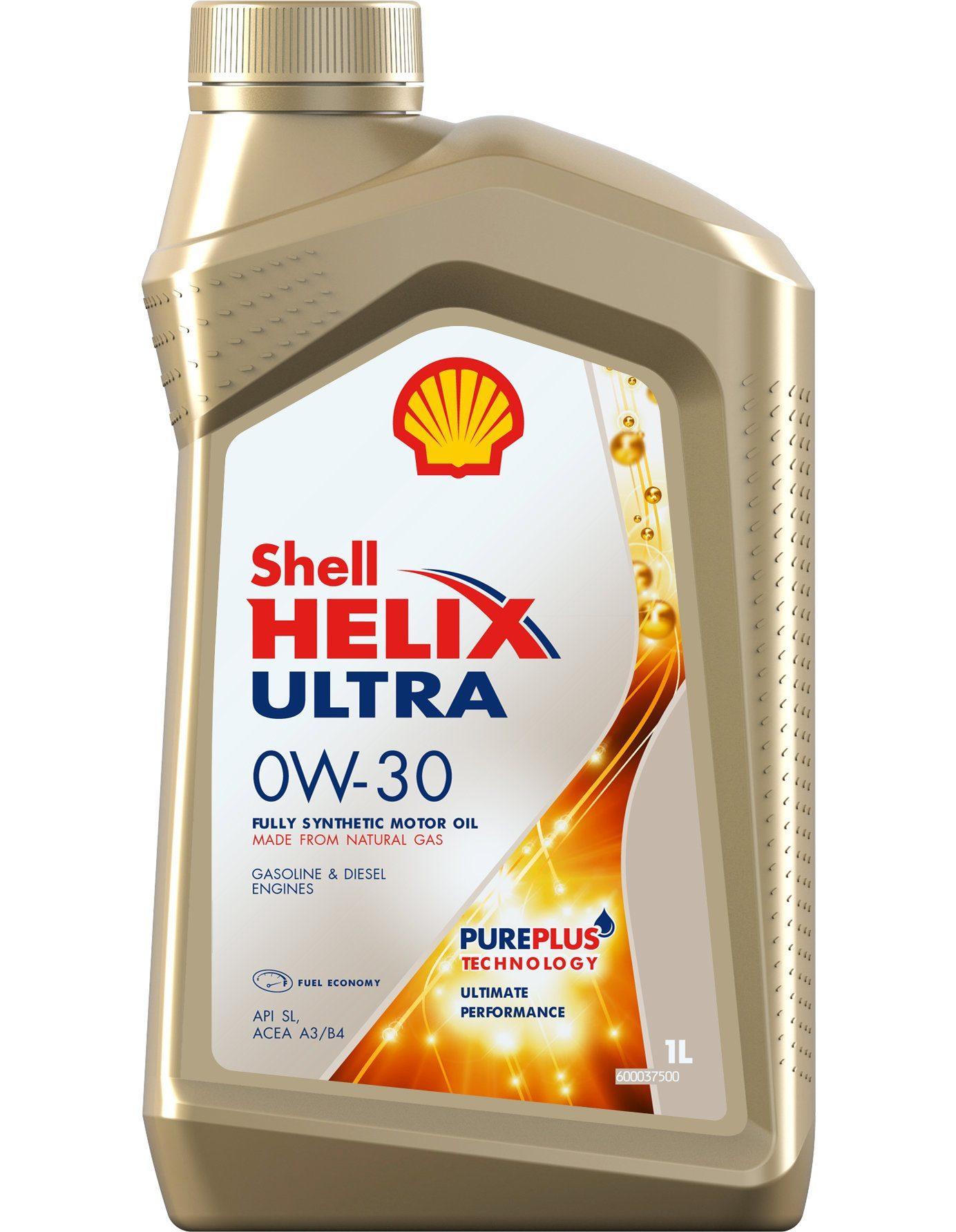 Shell Helix Ultra 0W30 Синтетическое моторное масло