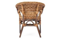 Комплект для отдыха Мандалино (Mandalino) 05/21 ( диван + 2 кресла + стол овальный ) — walnut (грецкий орех)