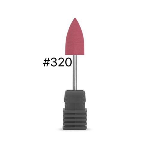 Силиконовый полировщик 8 мм (абразивность - 320)