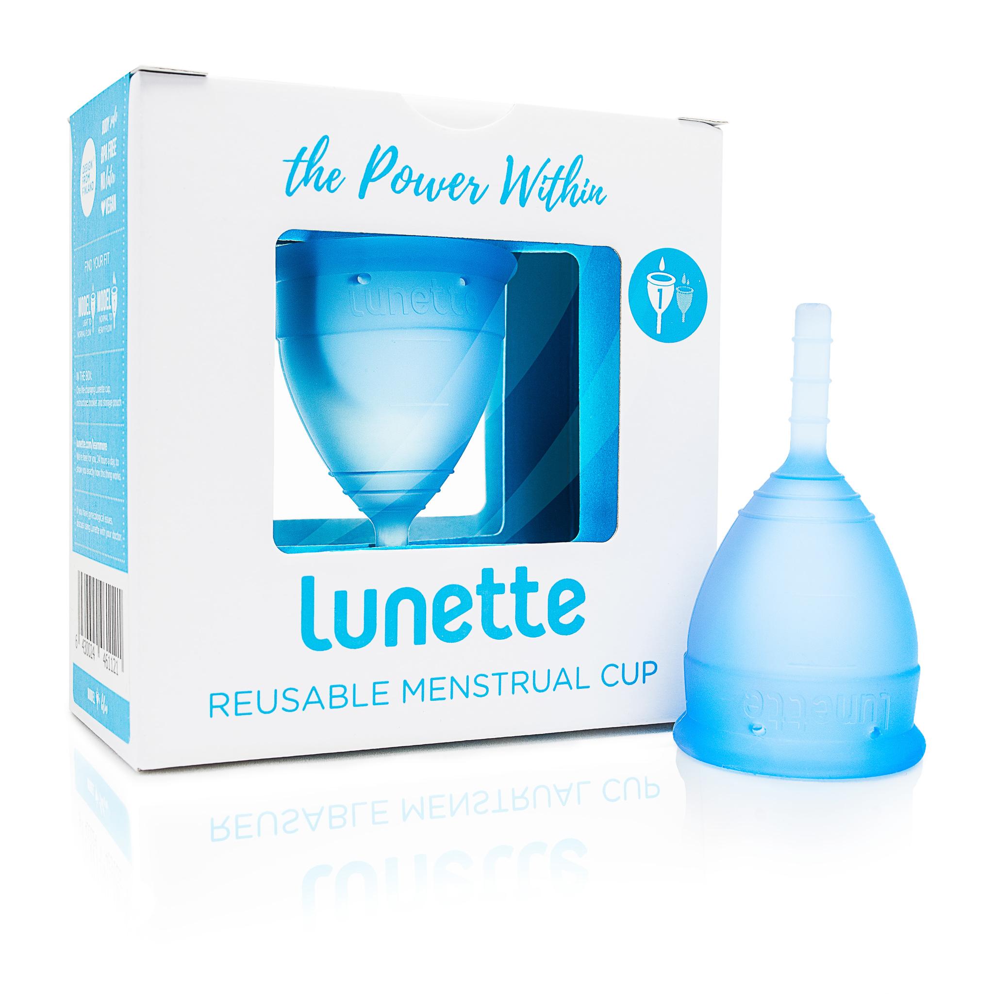 менструальная чаша Lunette 1