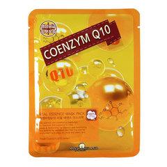 May Island Real Essence Mask Pack Coenzym Q10 - Тканевая маска для лица с коэнзимом Q10