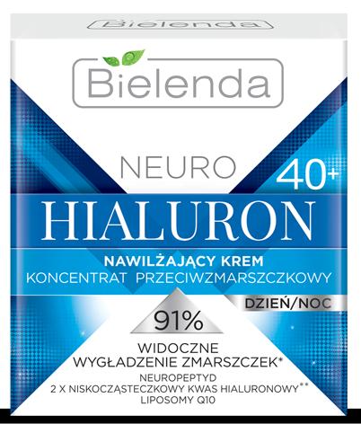 NEURO HIALURON Увлажняющий крем - концентрат против морщин 40+ день / ночь 50 мл