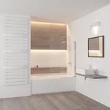 Шторка на ванну RGW SC-01 100х150 8 мм, 03110110-11 прозрачное