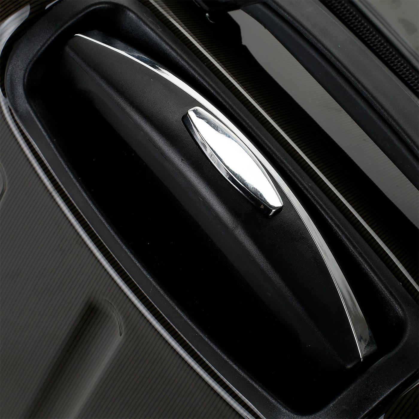 Чемодан SunVoyage Elit SV018-AC068 Коричневый/Черный (XL)