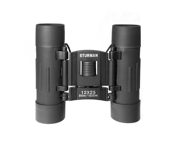 Бинокль Sturman 12x25 чёрный - фото 2