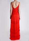 Платье длинное ALBERTA FERRETTI